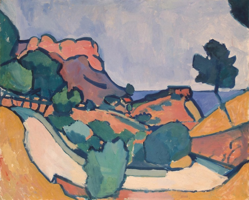 Andre Derain, Road in the Mountains