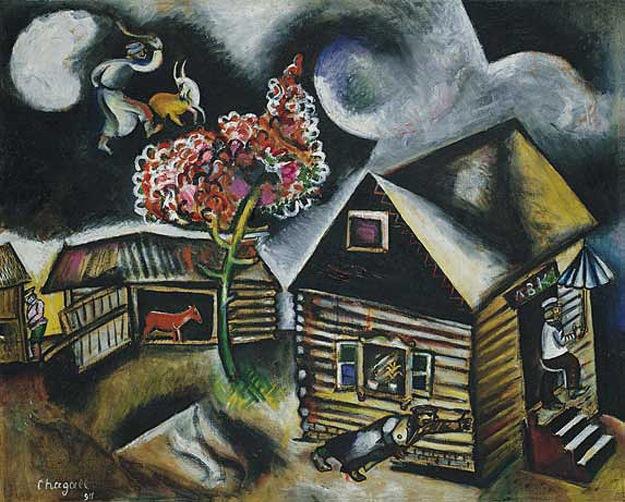 Mark Chagall, Rain
