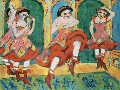 Ernst Ludwig Kirchner, Czardas Dancers