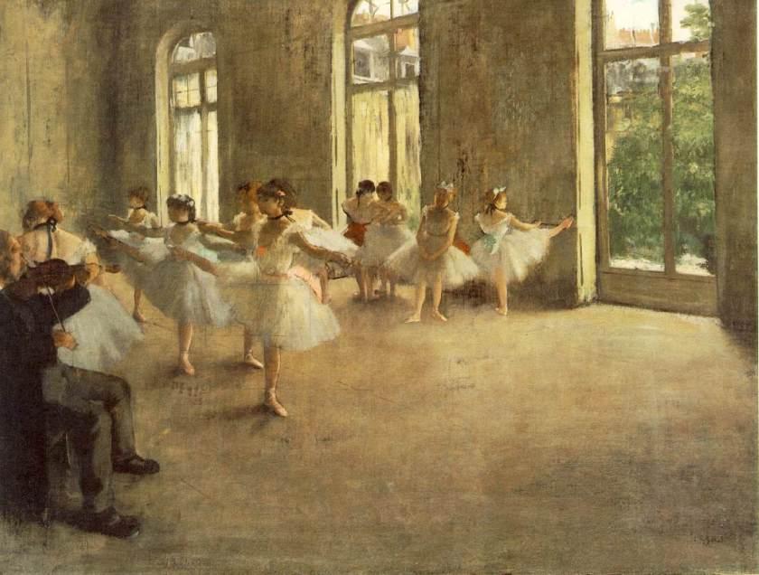 Edgar Degas, Rehearsal