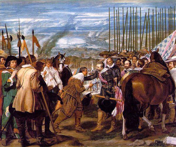 Diego Velazquez, The Surrender of Breda