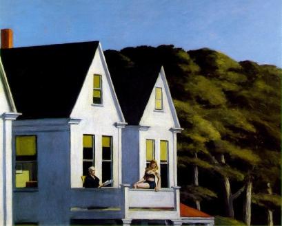 Edward Hopper, Second story sunlight