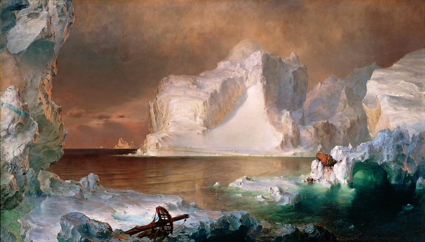Frederic Edwin Church, The Icebergs