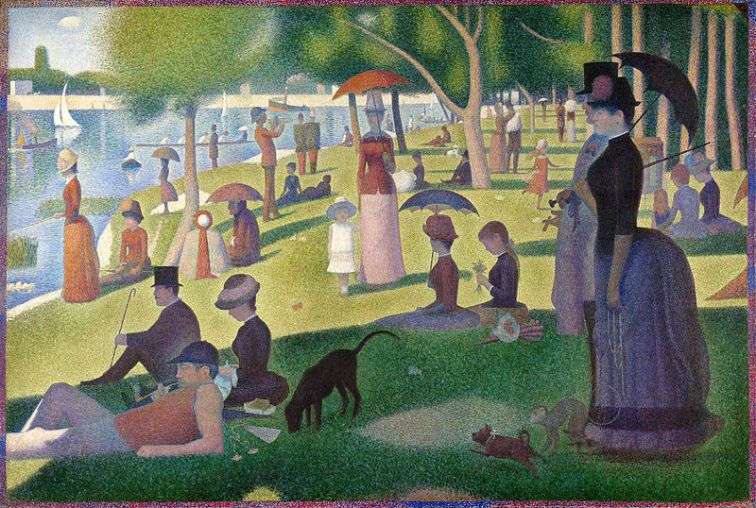 Georges Seurat, A Sunday on La Grande Jatte