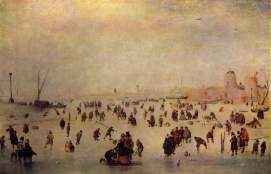 Hendrik Avercamp, Skating Scene