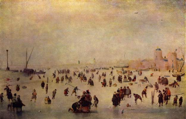 Hendrik Avercamp, Skating Scene
