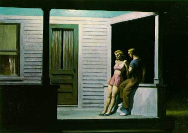 Edward Hopper, Summer evening
