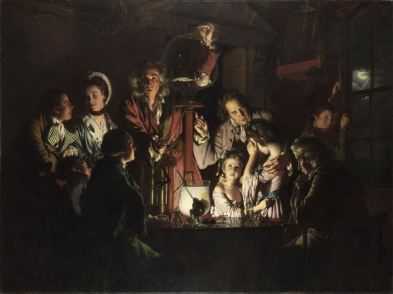 Joseph Wright of Derby, An Experiment on a Bird in an Air Pump