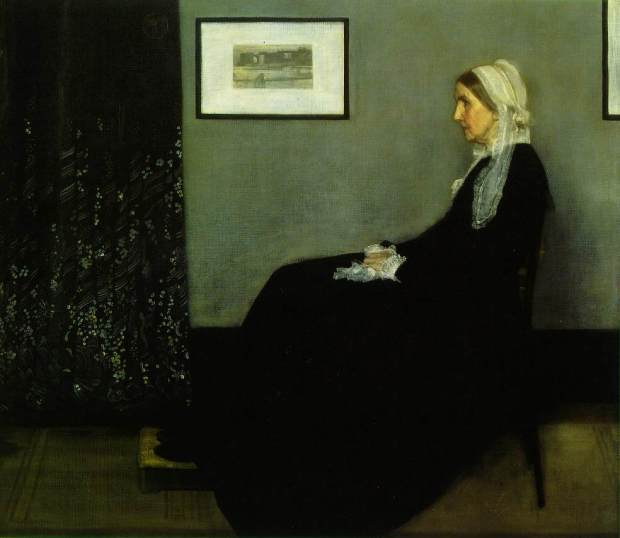 James Abbott McNeill Whistler, Arrangement in Grey and Black: Portrait of the Painter's Mother
