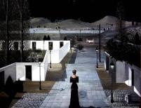 Paul Delvaux, Landscape with Lanterns