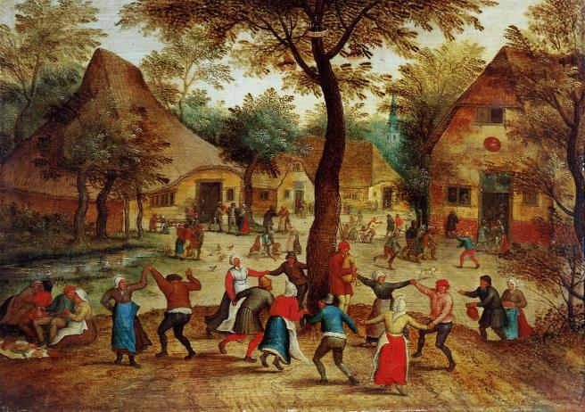 Pieter Bruegel the Younger, Dance around the May Pole