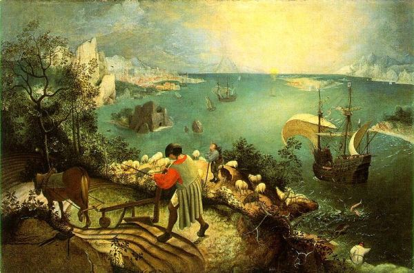 Pieter Brueghel the Elder, Landscape with the Fall of Icarus