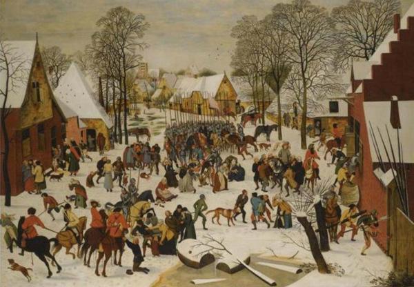 Pieter Brueghel the Elder, The Massacre of the Innocents