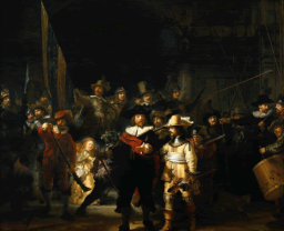 Rembrandt, The night watch