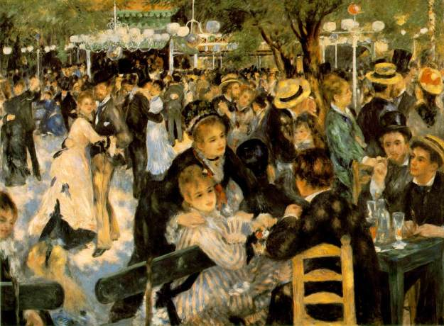 Pierre Auguste Renoir, Le Moulin De La Galette