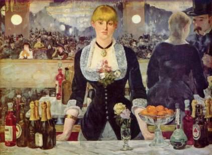Edouard Manet, A bar at the Folies-Bergère