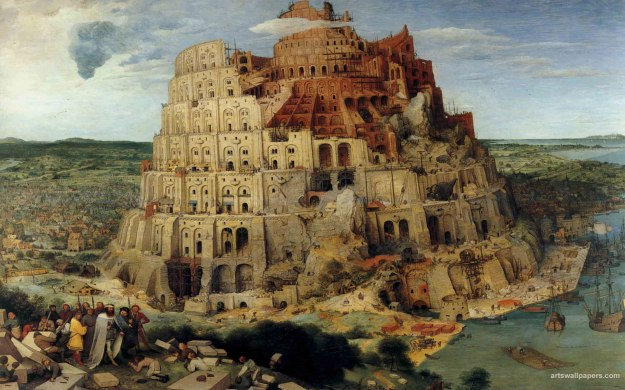 Pieter Bruegel The Elder, The tower of babel