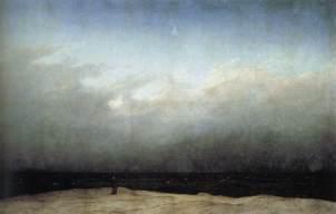 Monk by the Sea, Caspar David Friedrich