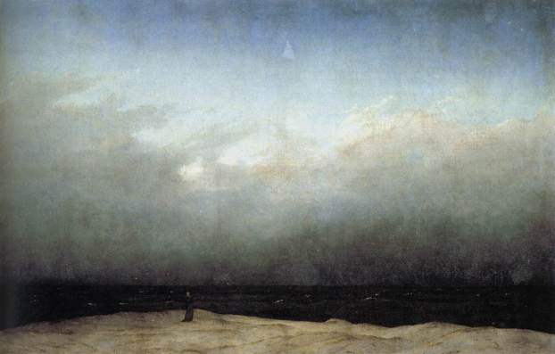 Monk by the Sea, Caspar David Friedrich
