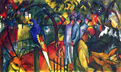 Zoological garden I, August Macke