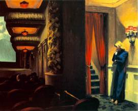 New York Movie, Edward Hopper