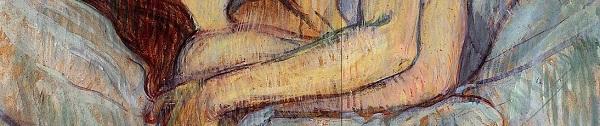Toulouse Lautrec, The kiss II