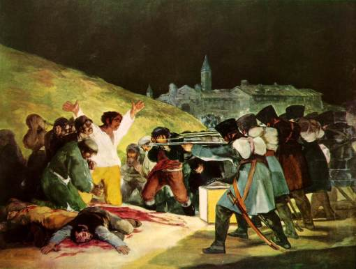 The Shootings of May Third 1808, Goya