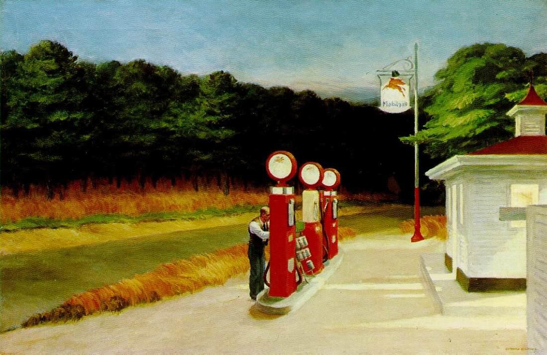 Edward Hopper, Gas