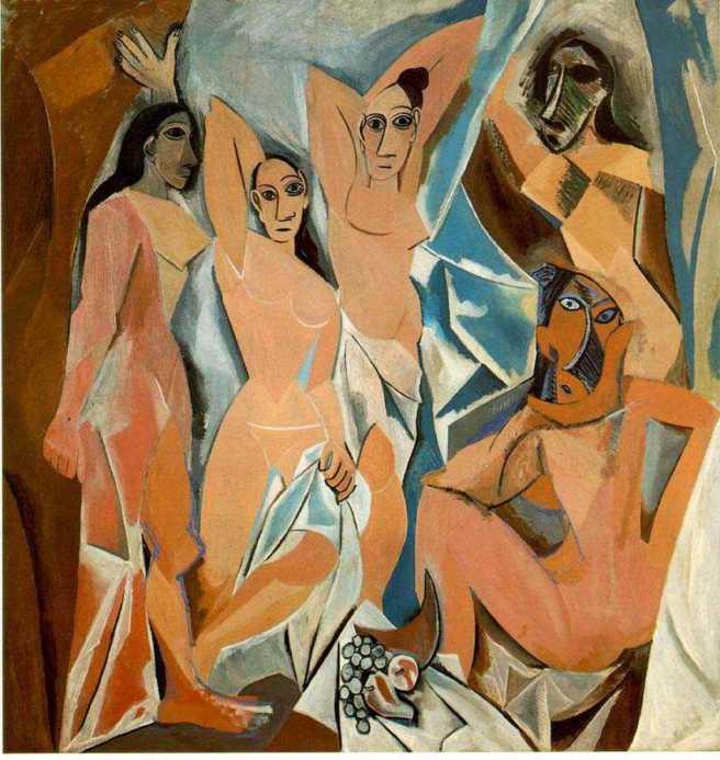 Pablo Picasso, Les Demoiselles d'Avignon