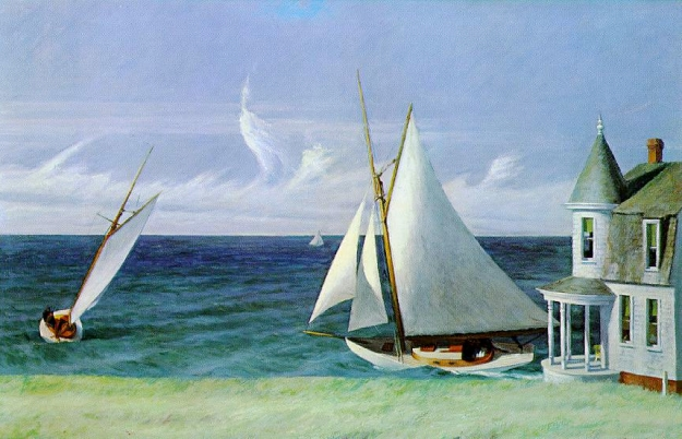 The Lee Shore, Edward Hopper