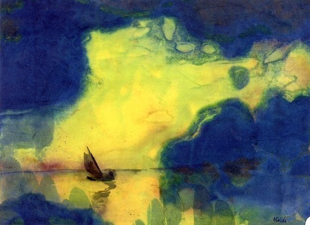The Sea at Dusk, Emile Nolde