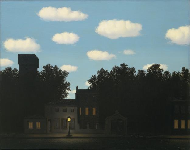 Rene Magritte, The Empire of Light